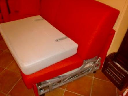 Nuovo rivestimento per un salotto donne sul web - Nozioni di cucito come ricoprire un divano ...