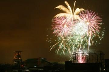 """I festeggiamenti nella Ruhr per la proclamazione di """"città della cultura"""""""