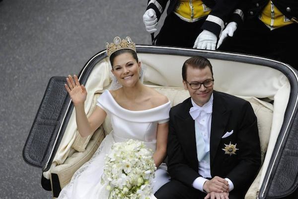 Matrimonio In Giordania : Vittoria di svezia nozze da favola e abito in mikado