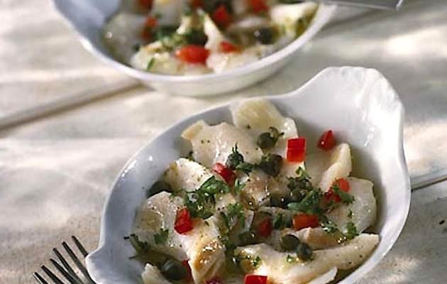 ricette con il baccalà marinato
