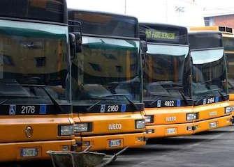 Sciopero autobus milano