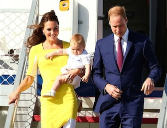 Kate e William in Australia, ma la star del royal tour è George