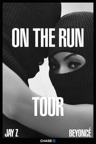 Beyoncé e Jay Z locandina tour
