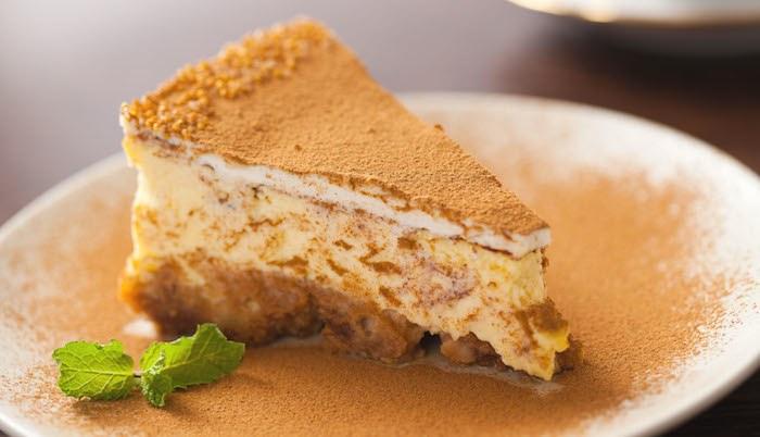 Cheesecake al caffè d'orzo senza uova