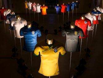 Brasile 2014: tutte le magliette del mondiale