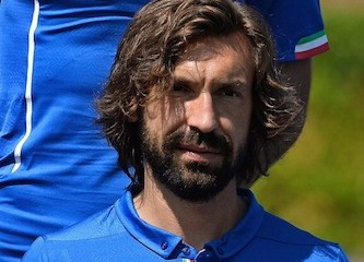 Andrea Pirlo foto ufficiale nazionale di calcio italiana