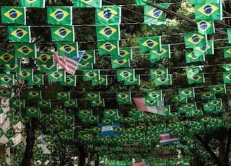 Rio de Janeiro bandiere mondiali