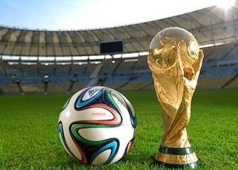 pallone e coppa Brasile 2014
