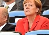 Merkel spalti coppa del mondo