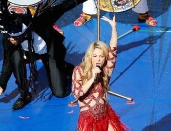 Shakira e Piqué al Maracanà di Rio. Foto