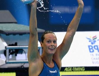Europei nuoto: Pellegrini oro nei 200 sl, record storico
