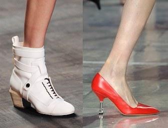 Le scarpe moda di settembre 2014:  basse e tacco medio