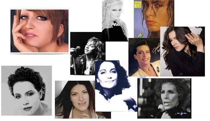dieci migliori cantanti italiane