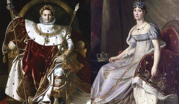 Napoleone e Giuseppina Bonaparte