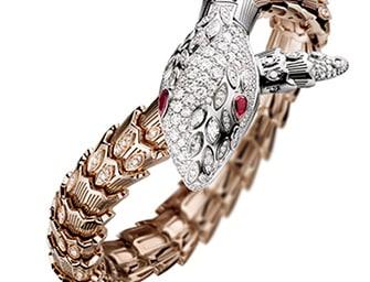 Bulgari:  i nuovi orologi e bracciali della collezione Serpenti