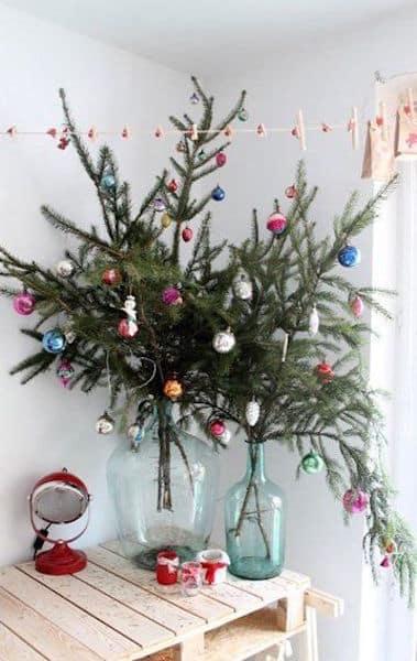 albero Natale vaso