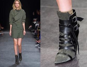 Le scarpe moda di dicembre 2014: stivali, sandali, calze e calzini