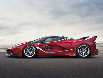 La nuova fantastica Ferrari Fxx K ibrida