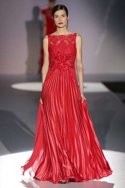 abito sposa rosso alessandro couture 2