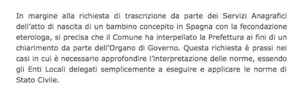 comunicato Torino