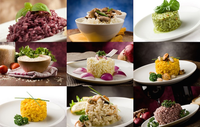 Collage risotto