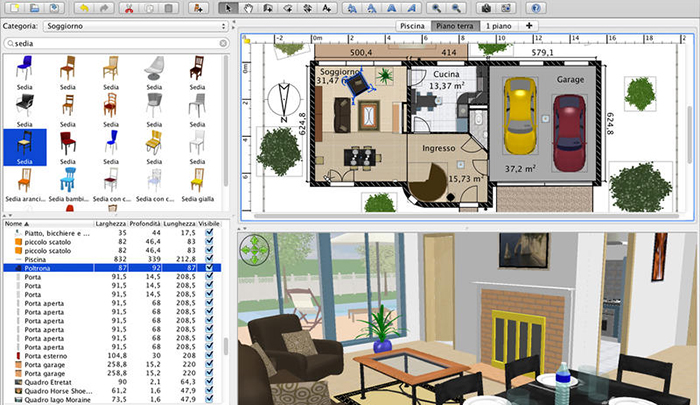 Arredare casa 3d software e idee utili donne sul web for Siti web di idee di case