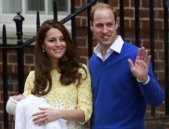 La figlia di Kate e William, tutte le foto