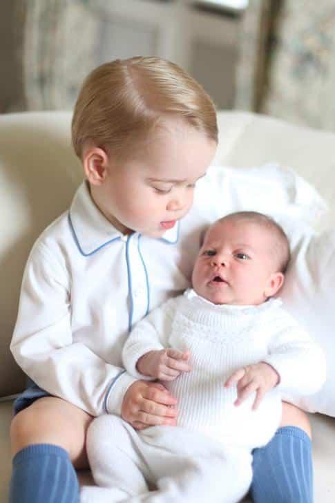 george charlotte royal babies