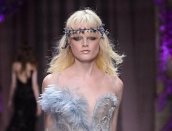 Atelier Versace Alta moda A/I 2015-16. Foto