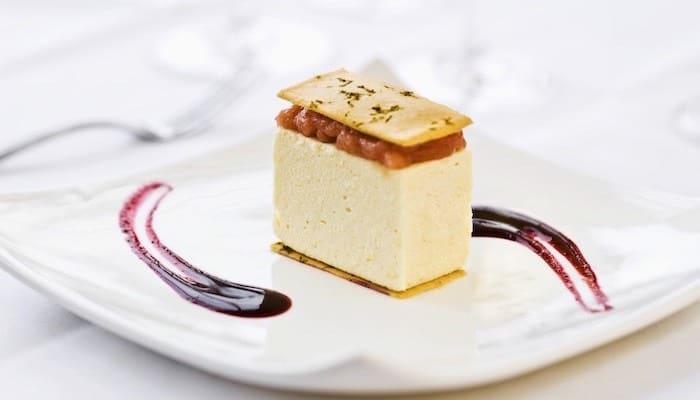 cheesecake-salato alla ricotta