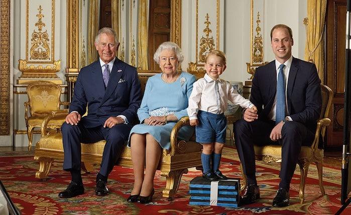 reali inglesi foto ufficiale