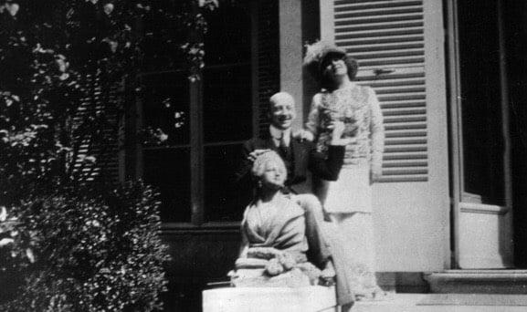 Gabriele D'annunzio e Eleonora Duse