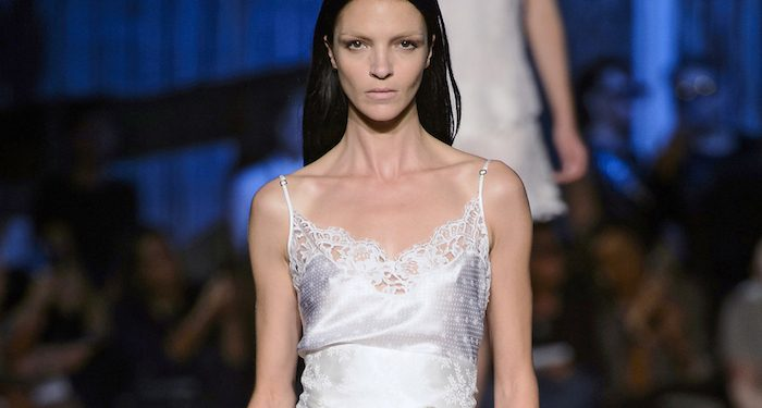Givenchy top bianco estate 2016