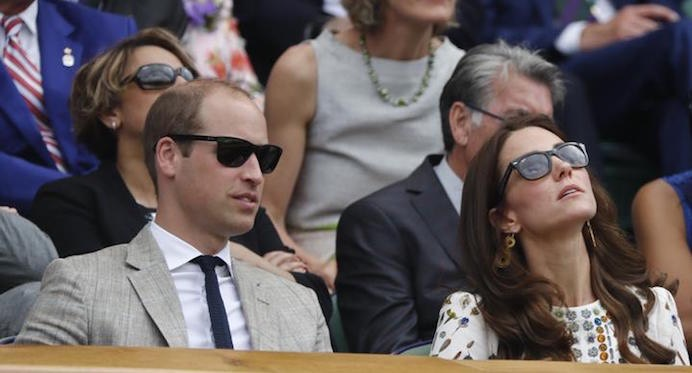 Wimbledon william kate