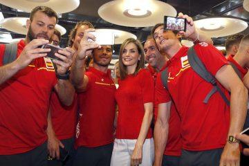 Spagna atleti Olimpiadi Regina Letizia