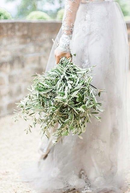 Bouquet Sposa Erbe Aromatiche.Bouquet Fiori E Ulivo 15 Idee Per Un Bouquet Con Ulivo La Nuova