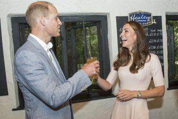 William Kate famiglia reale