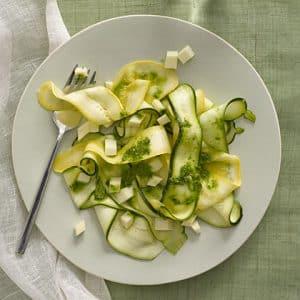 zucchine marinate insalata