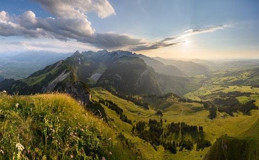 estero Svizzera paesaggio