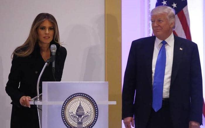 Washington Melania Donald Trump