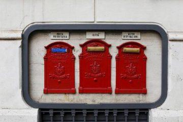 posta caselle Roma