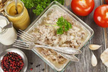 straccetti di pollo in gelatina ricetta avanzi
