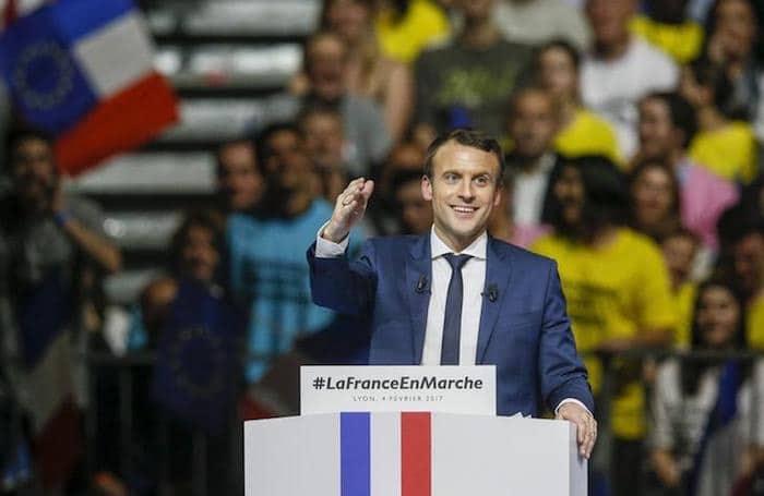Emanuelle Macron Francia