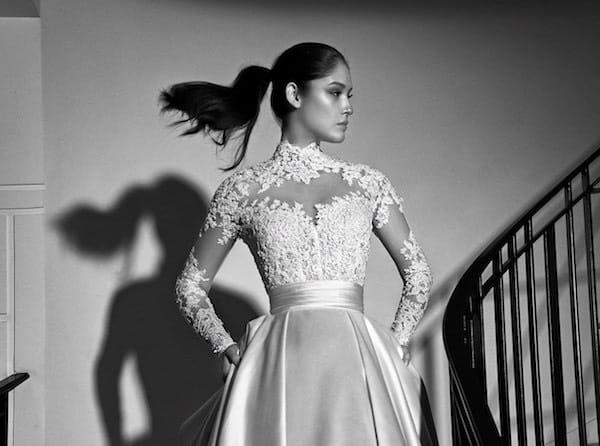 35 abiti da sposa lunghi per l inverno 2017-2018. Foto - Donne Sul Web 24455caeb68