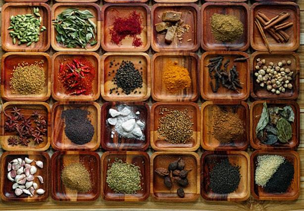 spezie cucina indiana