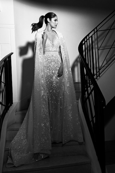 source The Lebanese designer Zuhair Murad again doesnt change himself and add a beautiful collection of wedding dresses decorated with lace and embroidery which create illusion of magical