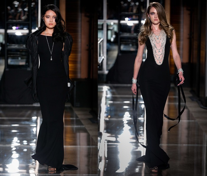 Reem Acra abiti sposa neri 2018