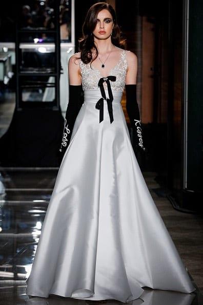 Reem Acra abito da sposa 2018