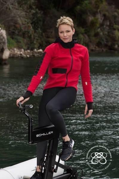 charlene di Monaco gara moto acqua marzo 2017