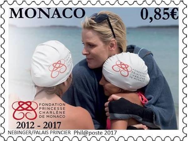 francobolli charlene monaco